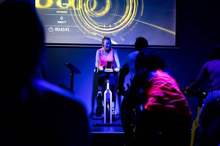 Image of High Intensity spin group cycle classes at ALLFIT 24/7 Fitness Gym Beachlands