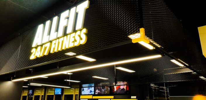 Image of Reception area at ALLFIT 24/7 Fitness Gym Takapuna