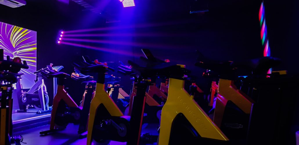 Image of Studio 2, spin group cycle exercise classes at ALLFIT 24/7 Fitness Gym Takapuna