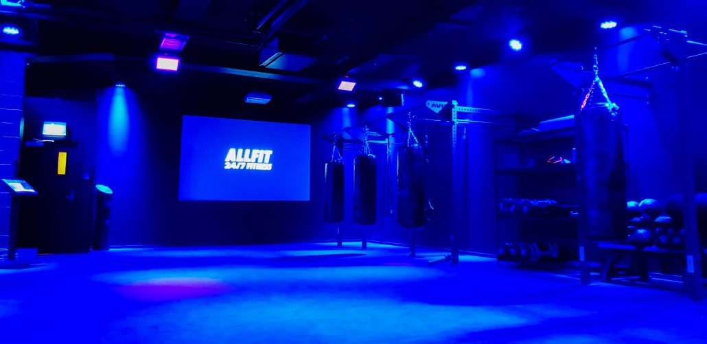 Image of Studio 1, functional group exercise classes at ALLFIT 24/7 Fitness Gym Takapuna